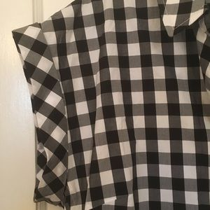 J. Crew Dresses - J Crew Gingham Short-sleeve Shirt-Dress M